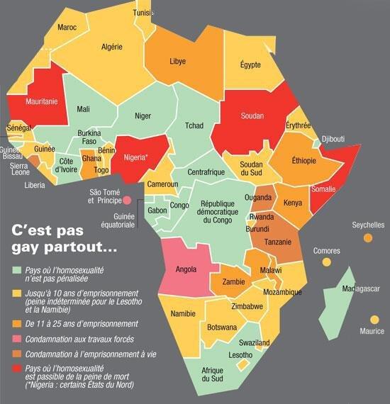 L'homosexualité en afrique | LGBT+ France Amino