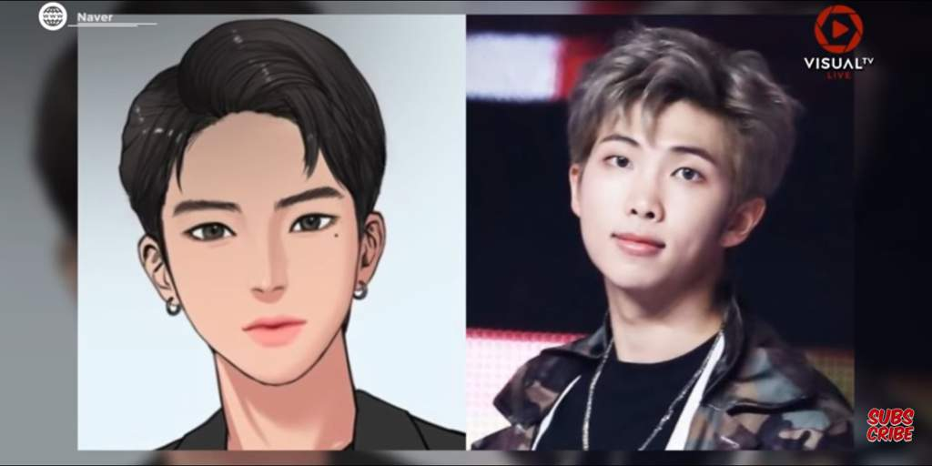 BTS appeared in one of the most popular e-comics!! | Park