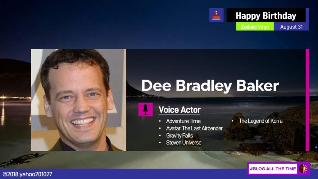 dee bradley baker behind the voice actors