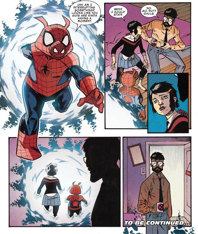 Sp//Dr returns!   Edge of Spider-Geddon #2   Comics Amino