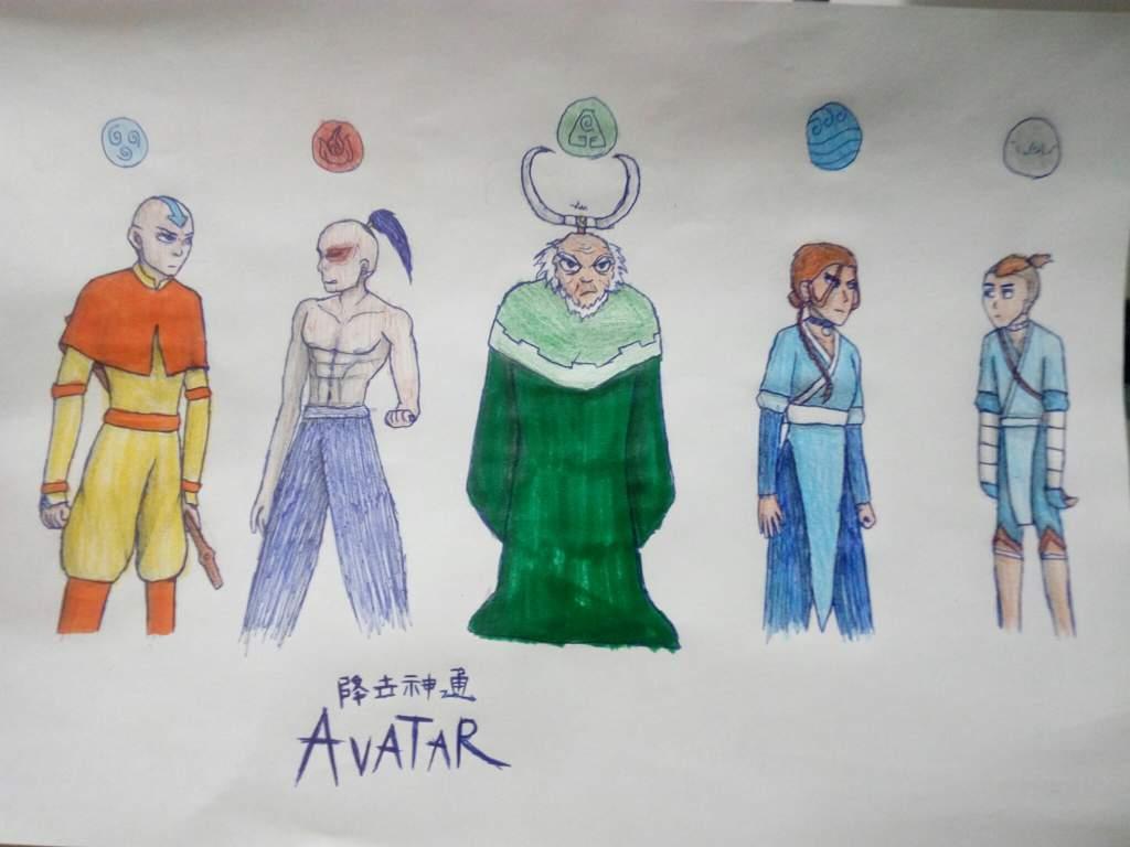 The Four Elements    and Sokka  | Avatar Amino
