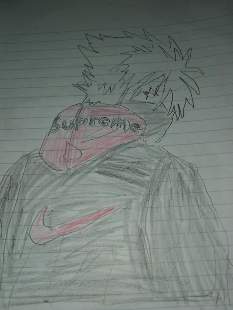 Supreme kakashi fan art