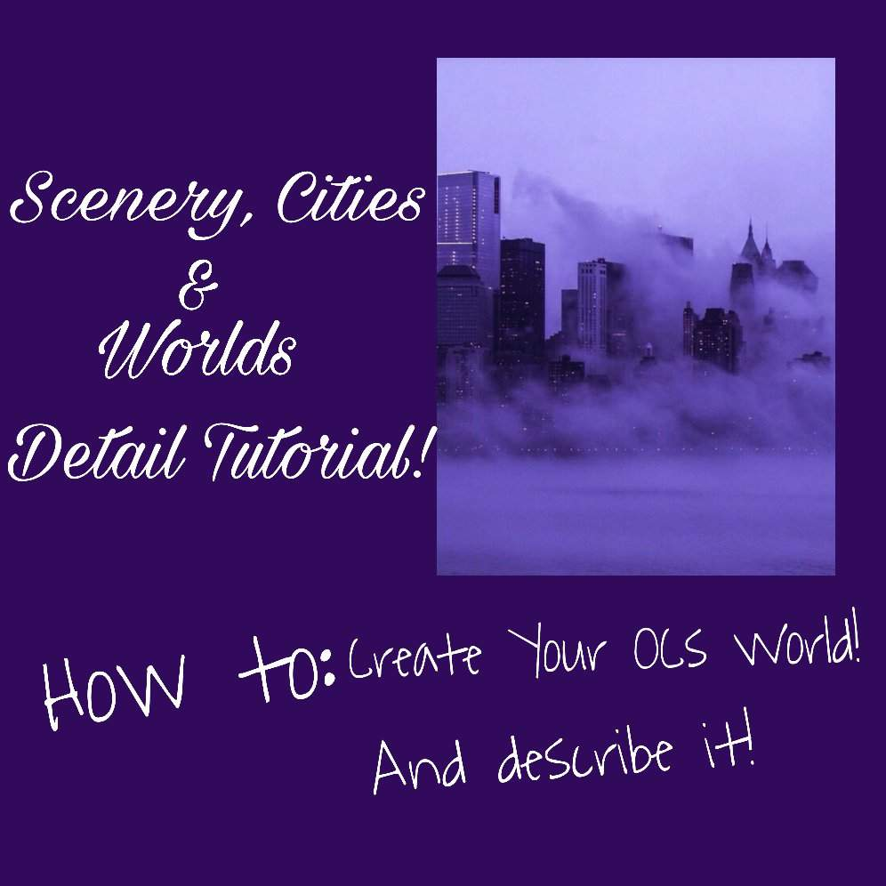how to describe scenery