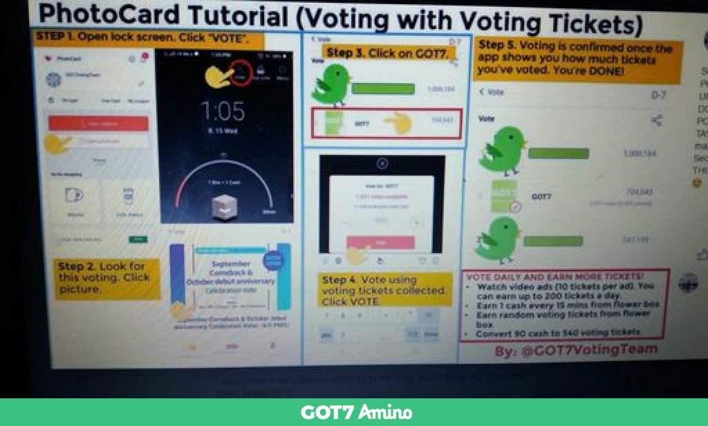 SUPPORT GOT7 | GOT7 Amino