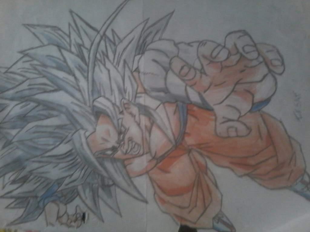 Dibujo De Goku Ssj5 Dibujarte Amino