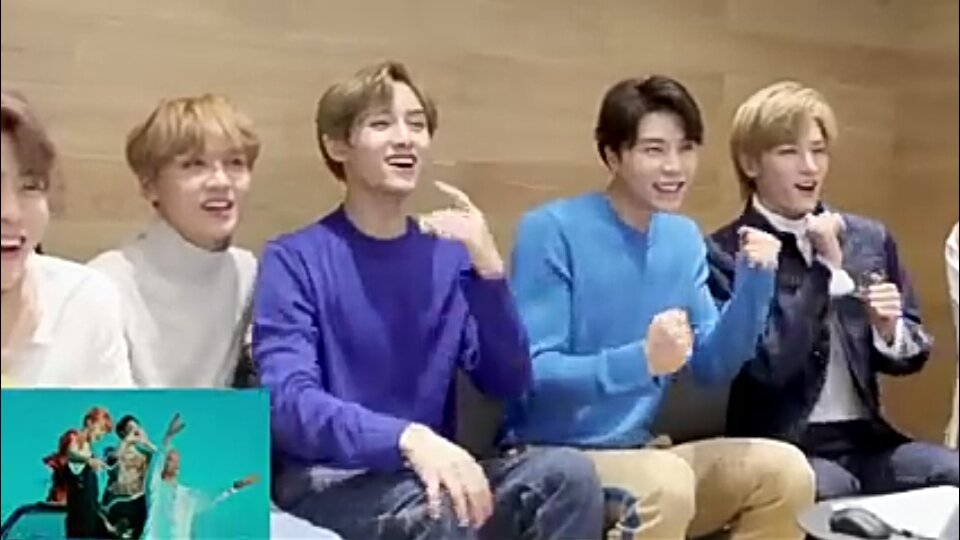 NCT 127 reaction | NCT (엔시티) Amino