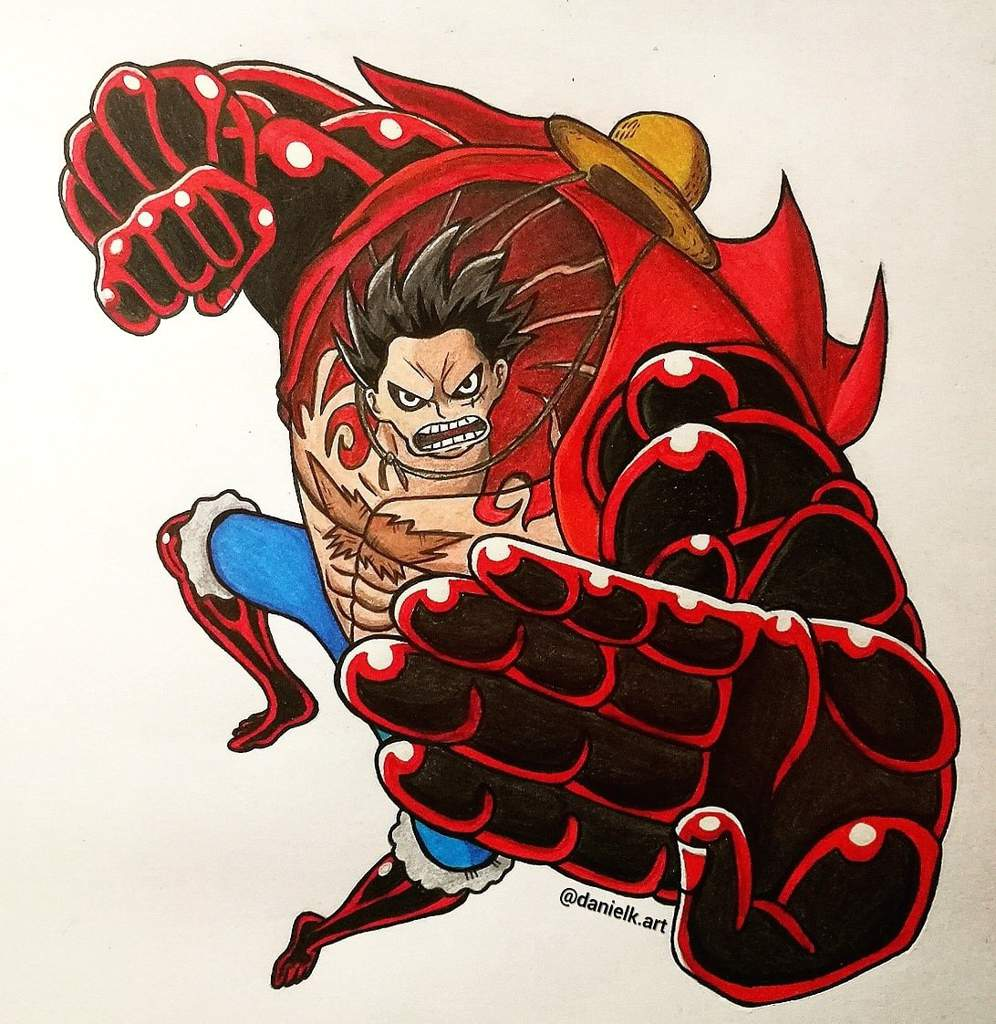 Luffy Gear 4 - Fanart 👒