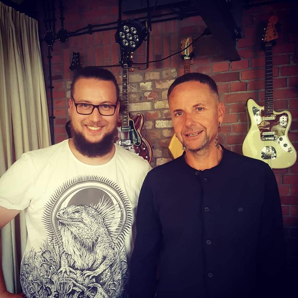 Jakub Milszewski En Instagram With Paul From Rammsteinofficial