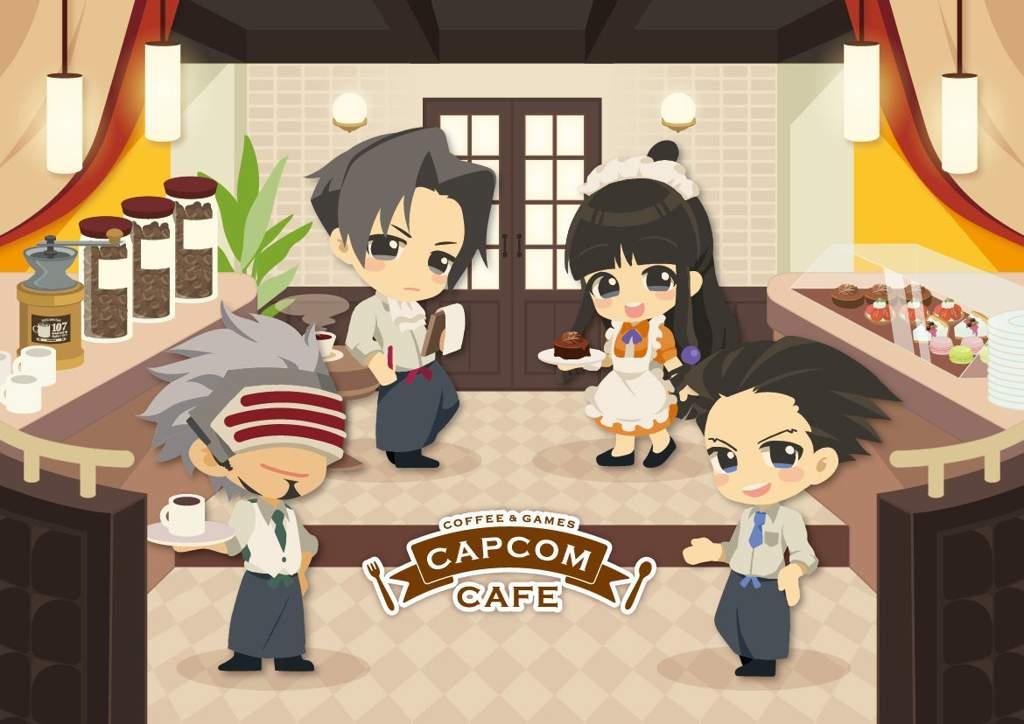 capcom ace attorney official art