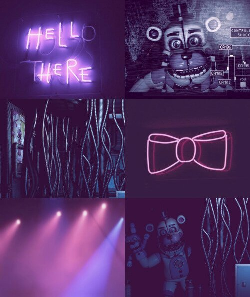 Our Friends And I Fnaf: Sister Location Aesthetic And Fnaf 6 Lefty Aesthetic