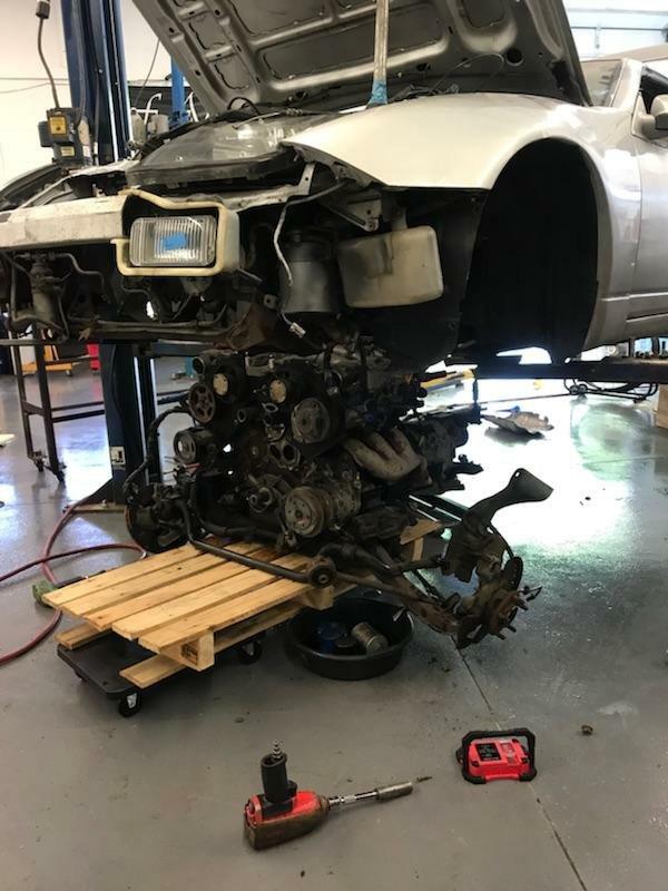 Z32 300ZX TT update!   Garage Amino