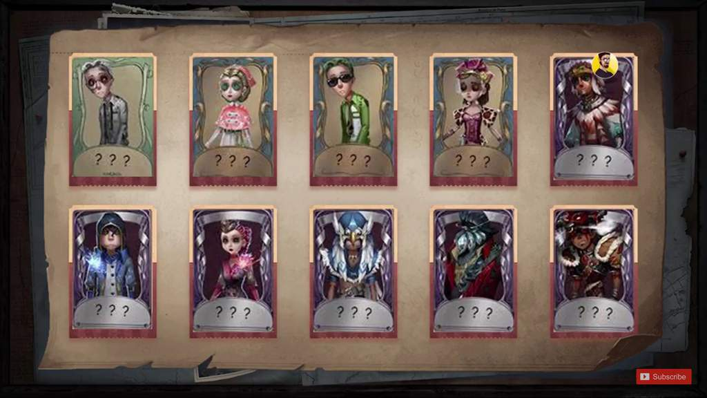 Leaked skins | Identity V Official Amino