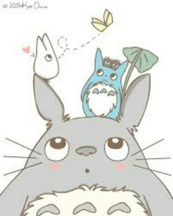 Dibujó de totoro 🍃 | Amantes Del Studio Ghibli Amino