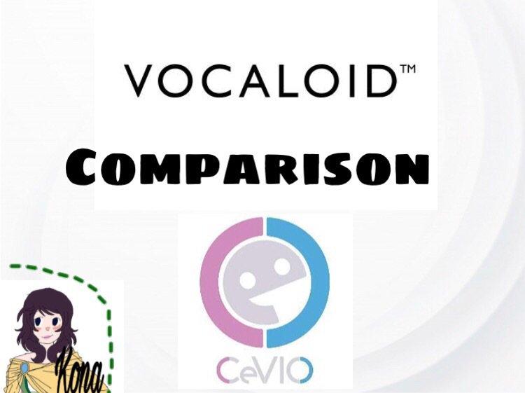 VOCALOID4 vs CeVIO CS6 | Vocaloid Amino