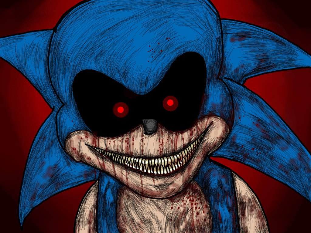 Creepypasta Sonic Exe Drawings – HD Wallpapers