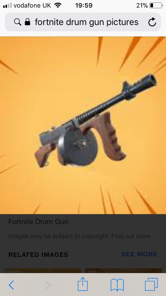 Epic Have Gone To Far A Vaulted Drum Gun Fortnite Battle Royale