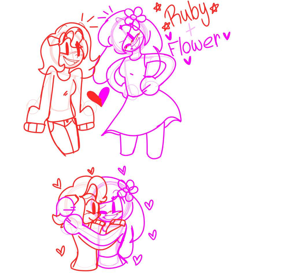 If you dont like Ruby X Flower then dont look] Flower X Ruby