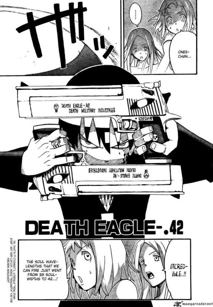 The Soul Eater Art Style How It Progresses Through The Manga