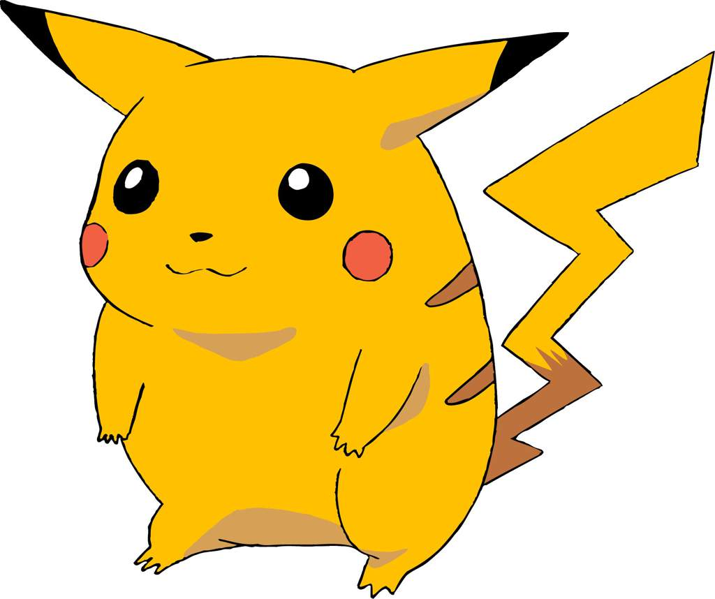 Image result for original pikachu