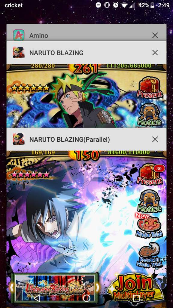 How to run more than 1 blazing account on your phone |  NARUTO