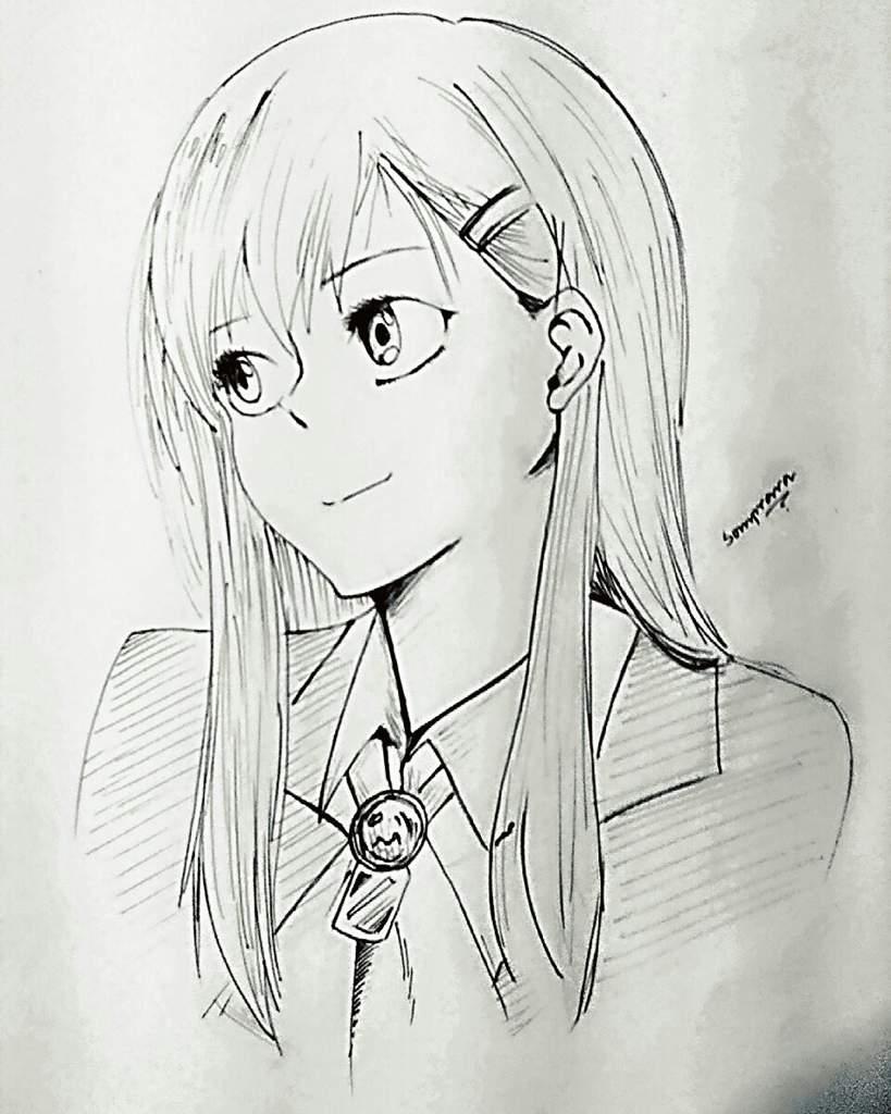 Simple Anime Girl