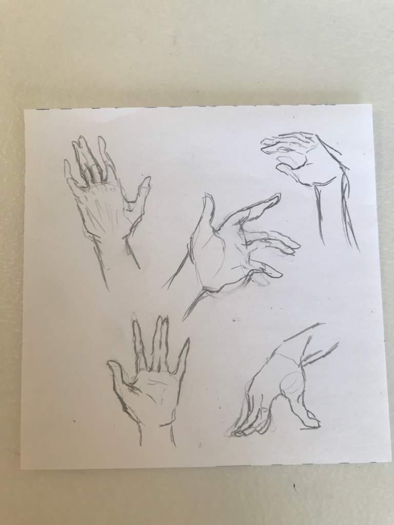 let s practice drawing hands art amino