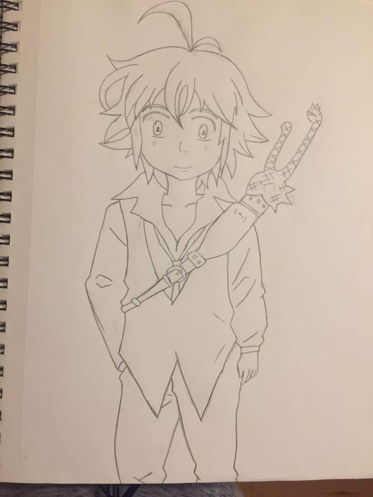 My Meliodas Drawing Seven Deadly Sins Amino