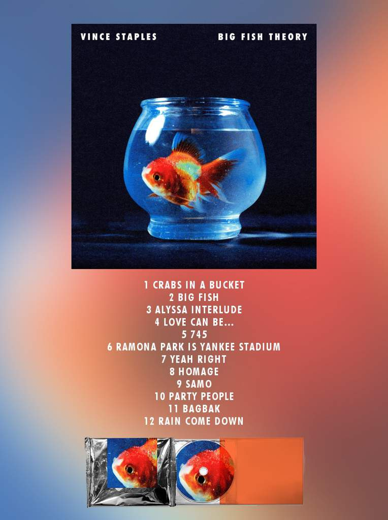 Vince Staples Big Fish Theory Album Review Rap Amp Hip