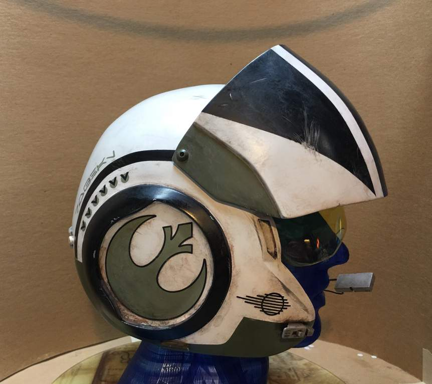 The Force Awakens Xwing Pilot Helmets-Poe, Snap, & Custom