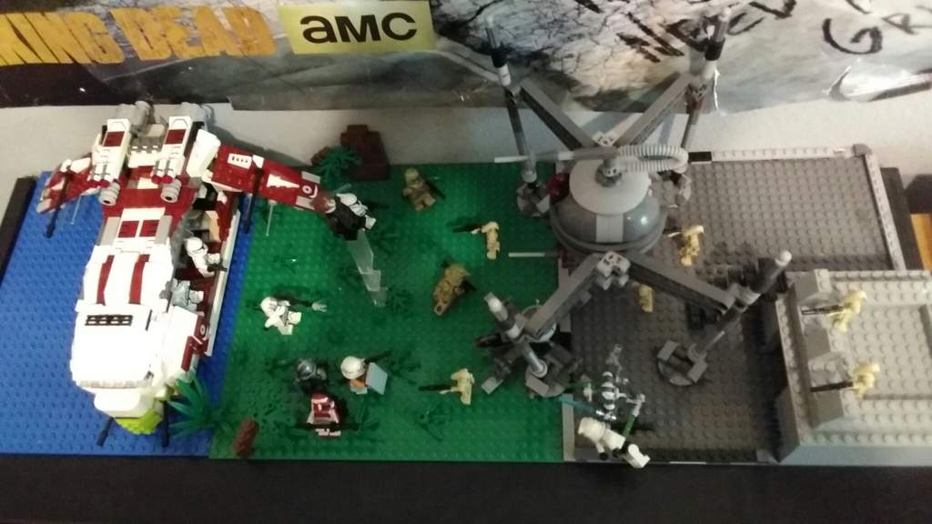 Lego Star Wars Moc Attack On Droid Out Post Star Wars Amino