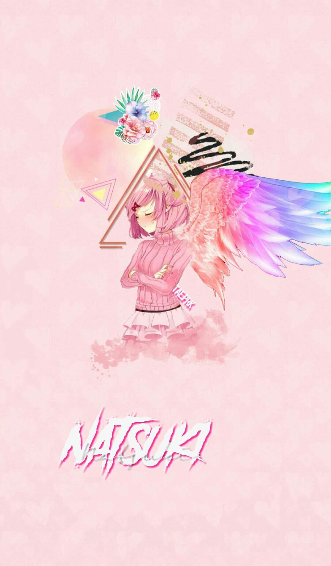 Natsuki Cute Edit Wallpaper Doki Doki Literature Club Amino