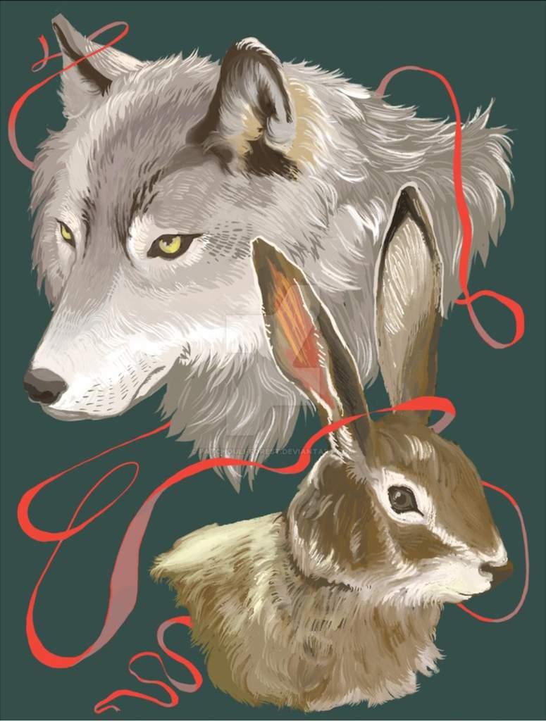 волк целует зайца картинки большой охотой