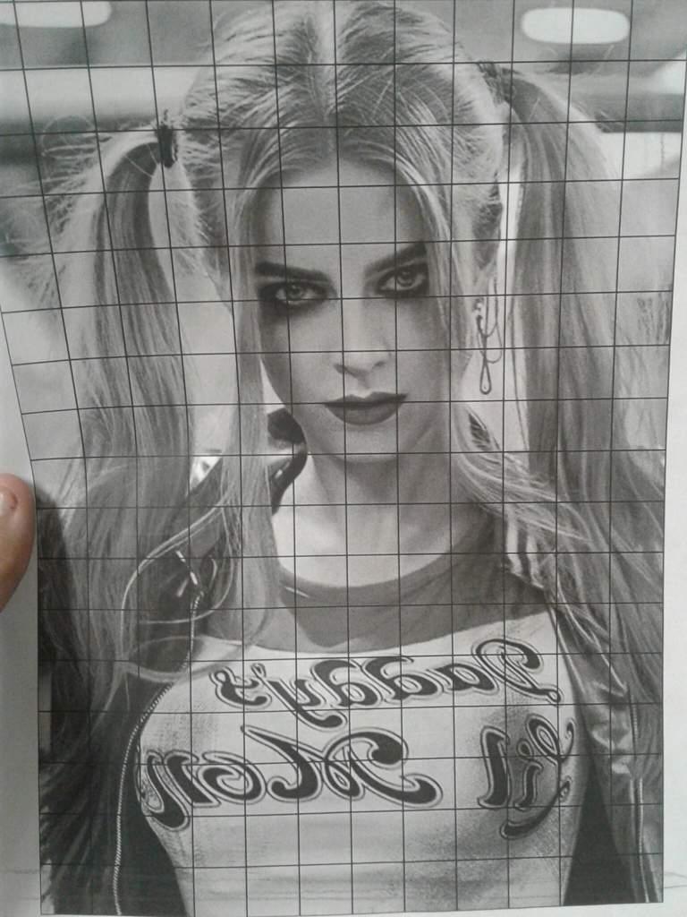 Art Class Project Photo Realism Harley Quinn Harley Quinn Amino
