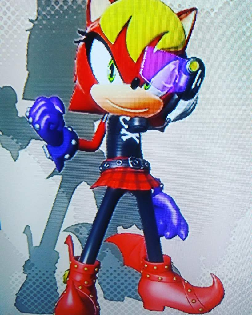 My Sonic Forces Main Oc Kick Ass Skarlecia Sonic The Hedgehog Amino
