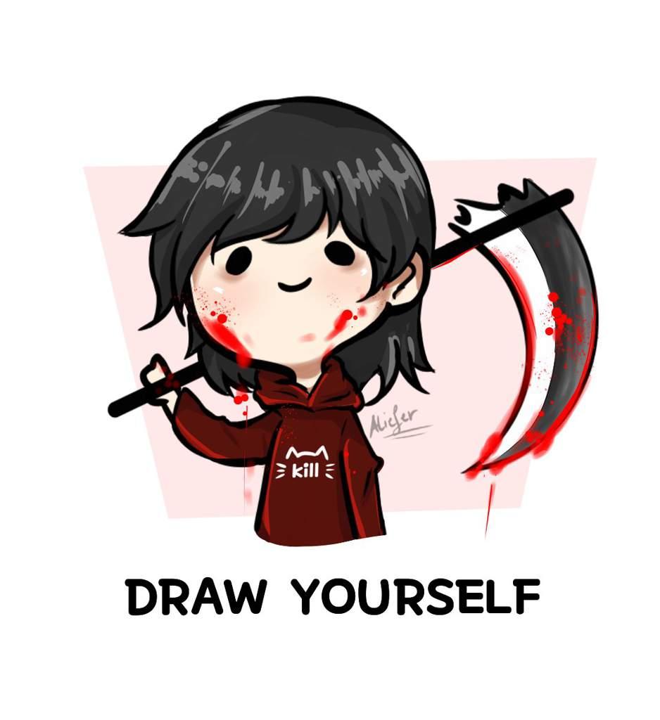 Draw Yourself Challenge Rwby Amino