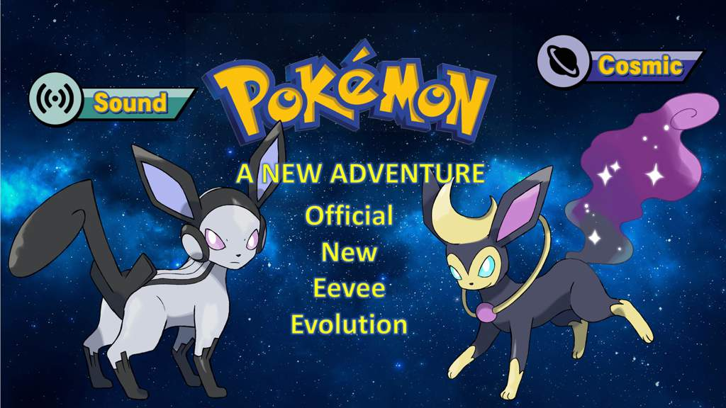 My official new type eevee evolution | Pokémon Amino
