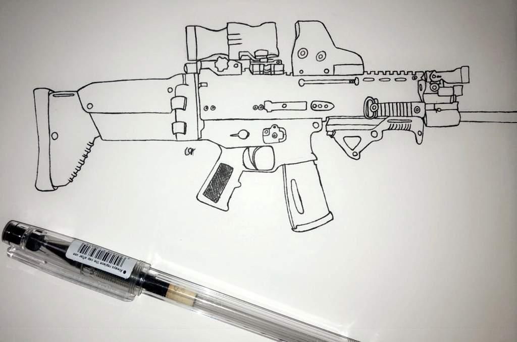 3rd Drawing Gun Drawin Pubg Mobile Amino