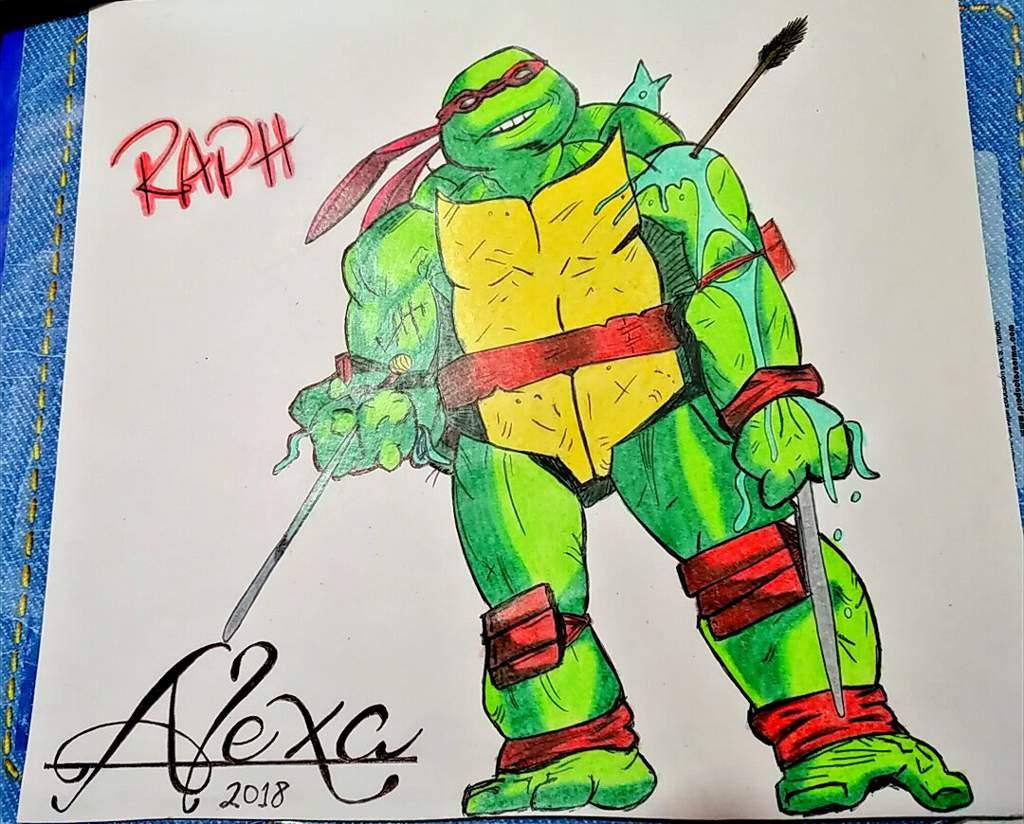 Dibujo De Rafaeltortugas Ninja Dibujarte Amino