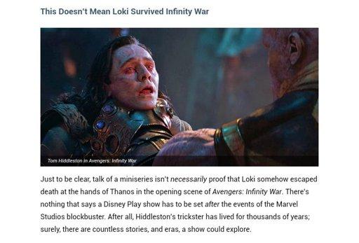 Loki Escapes Thanos Fanfiction