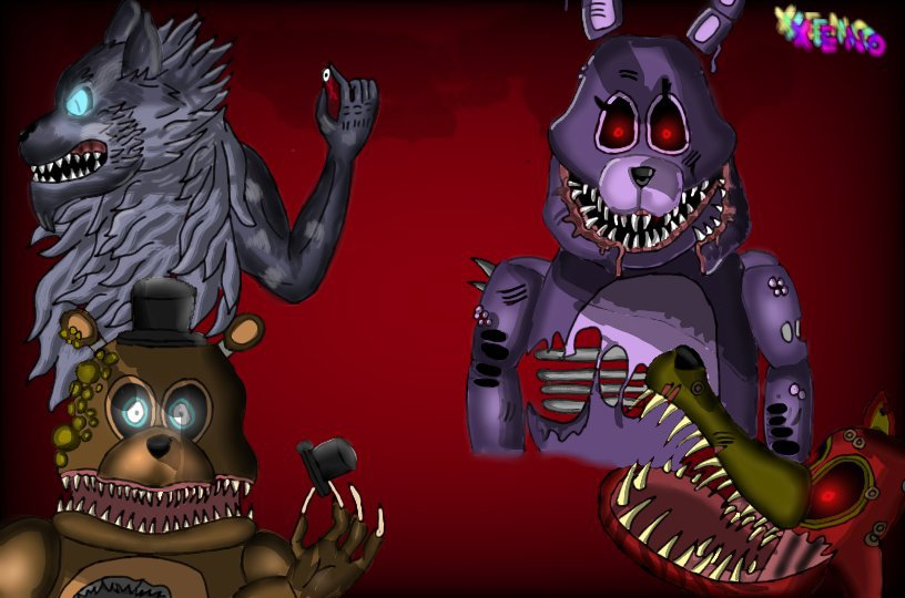 William's hunting pack | Five Nights At Freddy's Amino