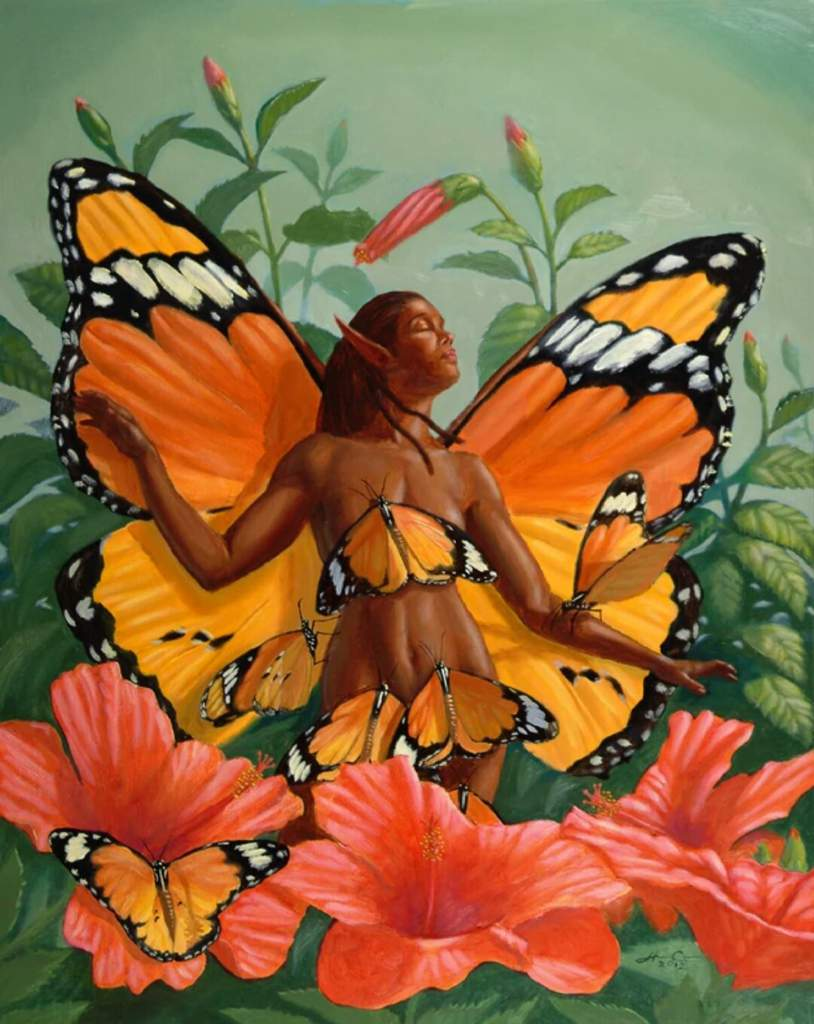 Aziza: African Fairies | Pagans & Witches Amino