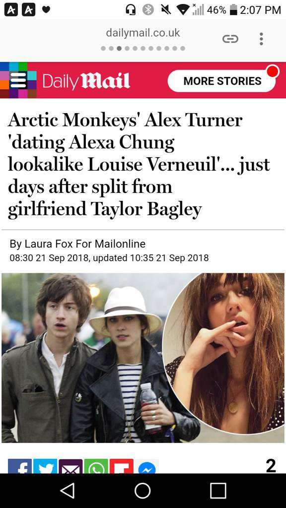 Guys Alex Got New Girlfriend Arctic Monkeys Amino