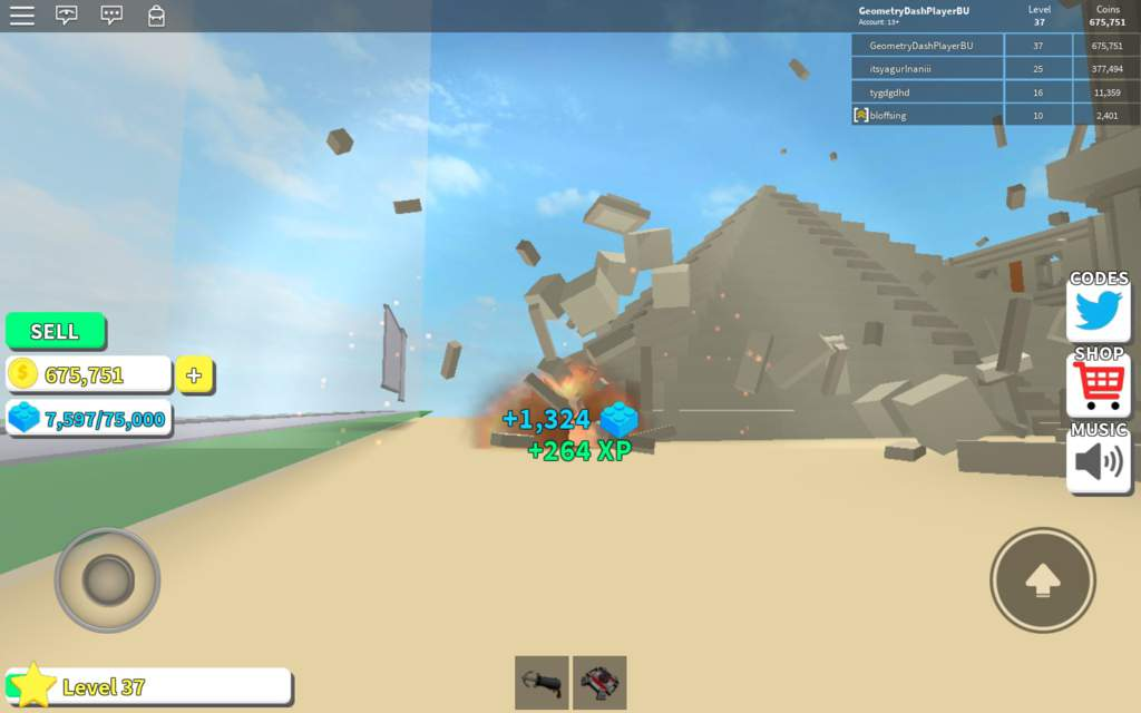 Roblox Codes For Destruction Simulator 2018 Roblox Geometry Dash Codes Wiki Give Me Free Robux No Human Verification