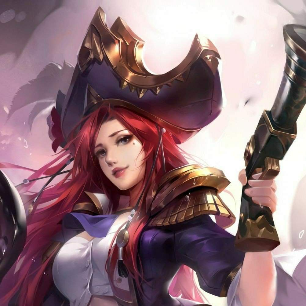 New Miss Fortune Artwork for LOR, loving her new top and