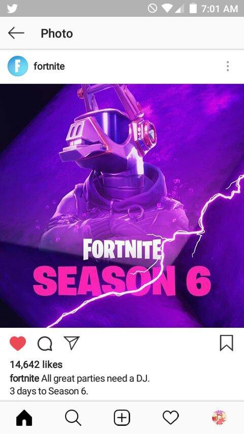 All Great Parties Needs A Dj 3 Days Til Season 6 Fortnite