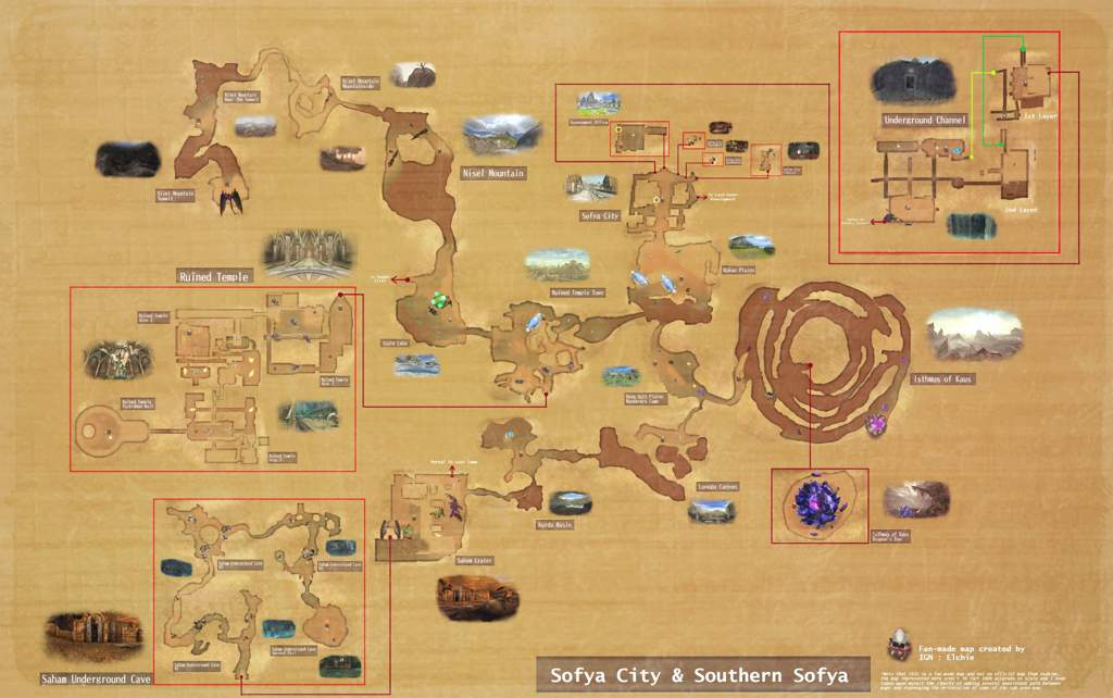 toram online world map Toram World Map Project Southern Sofya Toram Online Amino