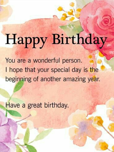 wish you a many more happy returns of the day