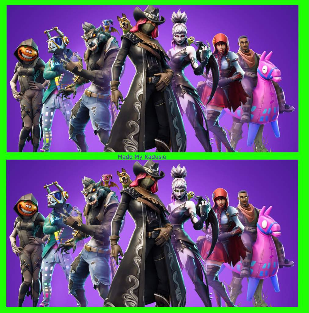 Spot The Difference Welcome To Season 6 Fortnite Battle Royale