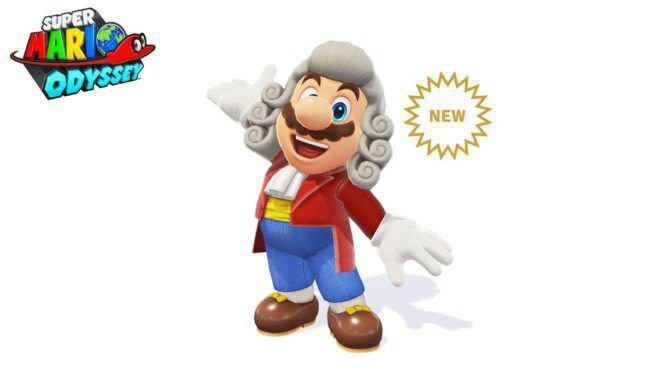 Super Mario Odyssey - Conductor Wig and Conductor Outfit available ...
