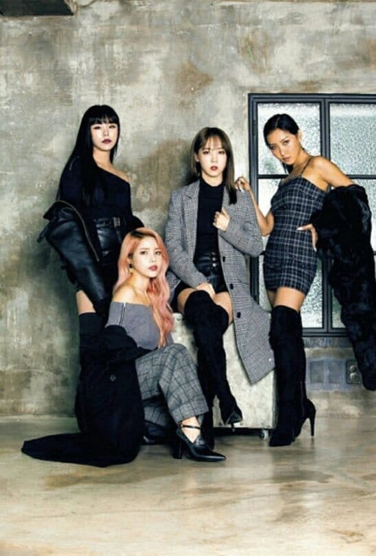 Mamamoo X Egoist Group Picts Mamamoo Amino